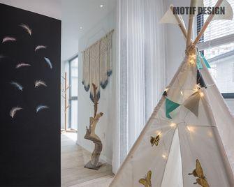 130平米四室两厅北欧风格儿童房设计图