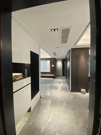 富裕型90平米三室两厅现代简约风格玄关图片
