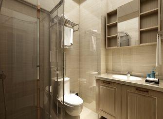 60平米一居室中式风格卫生间图片