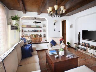110平米三室一厅地中海风格客厅设计图