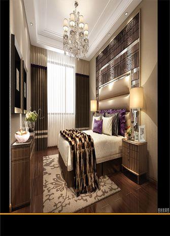 140平米四室四厅北欧风格卧室图片大全
