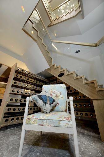 140平米别墅田园风格楼梯效果图