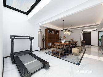 140平米三室两厅现代简约风格健身室图