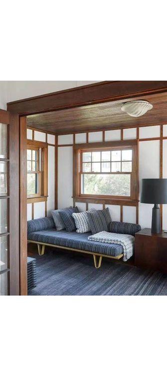 140平米三室一厅东南亚风格卧室装修效果图
