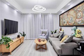 90平米三室一厅美式风格走廊装修图片大全