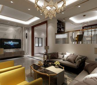 富裕型140平米别墅其他风格客厅图片