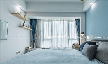80平米三室一厅北欧风格卧室图片
