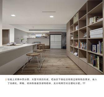 110平米三室一厅日式风格餐厅图片大全