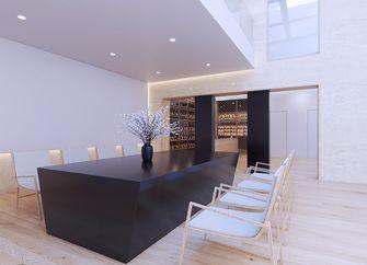 100平米一室一厅日式风格餐厅欣赏图