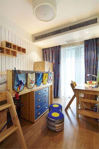 120平米三室两厅北欧风格儿童房图片