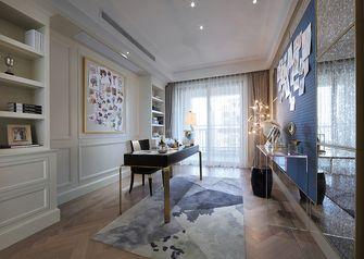 140平米四室两厅美式风格书房装修效果图