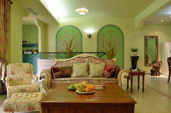 经济型140平米四室一厅田园风格客厅欣赏图