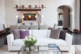 80平米地中海风格客厅装修案例