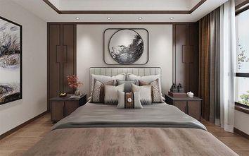 140平米四室三厅中式风格卧室图片大全