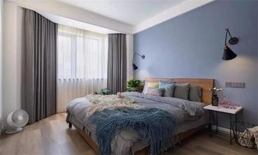 120平米三室两厅田园风格卧室欣赏图