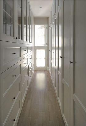 80平米三室一廳美式風格衣帽間裝修案例