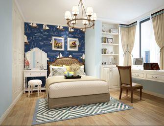 90平米三室两厅美式风格卧室背景墙欣赏图
