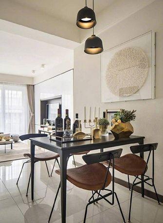 60平米现代简约风格餐厅图