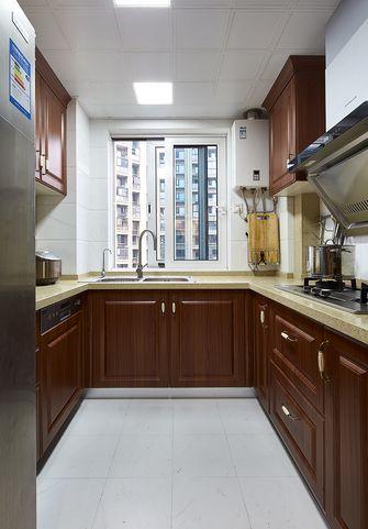 120平米四室一厅新古典风格厨房欣赏图