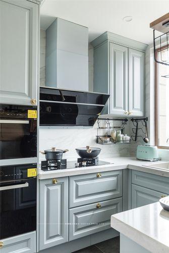110平米四室两厅美式风格厨房欣赏图