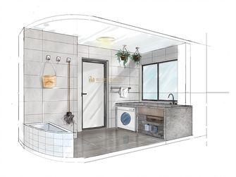 120平米三室两厅中式风格阳台效果图