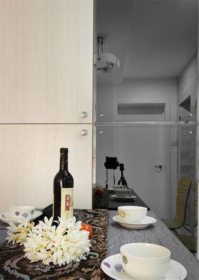 富裕型90平米三室兩廳混搭風格餐廳圖