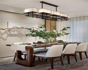 90平米三室一厅中式风格餐厅欣赏图