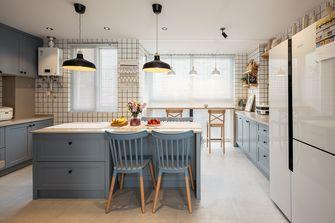 140平米四室一厅北欧风格厨房图