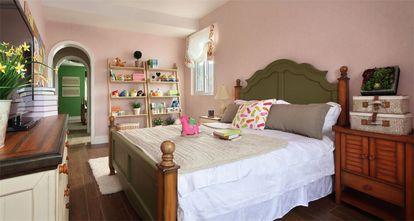 110平米三室两厅田园风格卧室图