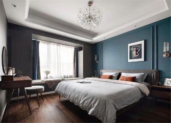 80平米三室一厅新古典风格卧室装修效果图