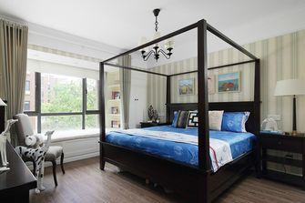 140平米一居室美式风格卧室图