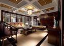 豪华型140平米别墅中式风格其他区域吊顶设计图