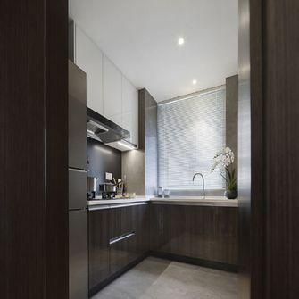 110平米三室三厅中式风格厨房欣赏图