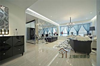 80平米一室三厅欧式风格客厅图片大全