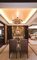 80平米一室两厅东南亚风格餐厅图片大全