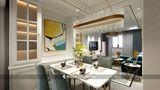 60平米欧式风格餐厅设计图