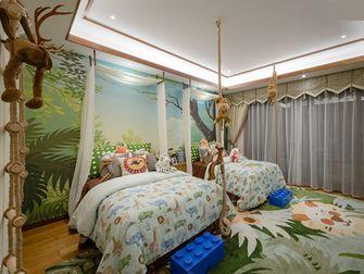 140平米三室两厅东南亚风格儿童房设计图