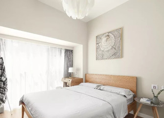 50平米一室一厅日式风格卧室欣赏图