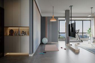 140平米三室一厅现代简约风格健身室图