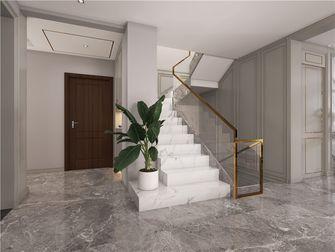 140平米复式混搭风格楼梯间设计图