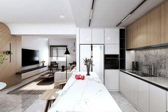 80平米一居室现代简约风格厨房图片大全