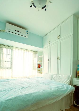 80平米三田园风格卧室图片