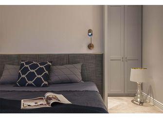 60平米一居室北欧风格卧室欣赏图