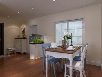 90平米三室两厅地中海风格餐厅家具欣赏图