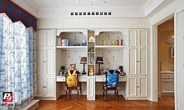 140平米复式英伦风格书房图片大全