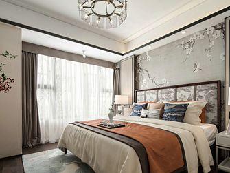 140平米三室两厅中式风格卧室欣赏图