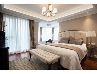 140平米四室三厅混搭风格卧室图片大全