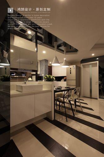 经济型80平米现代简约风格餐厅装修案例
