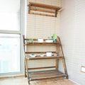 15-20万120平米三室两厅田园风格楼梯欣赏图