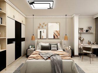 70平米复式北欧风格卧室效果图